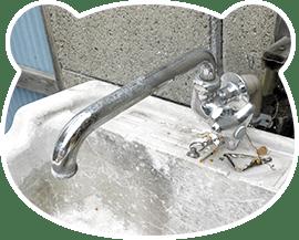 屋外蛇口・水栓柱の修理と料金表