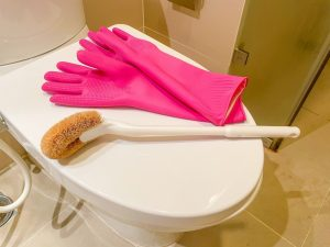 便器と掃除用具